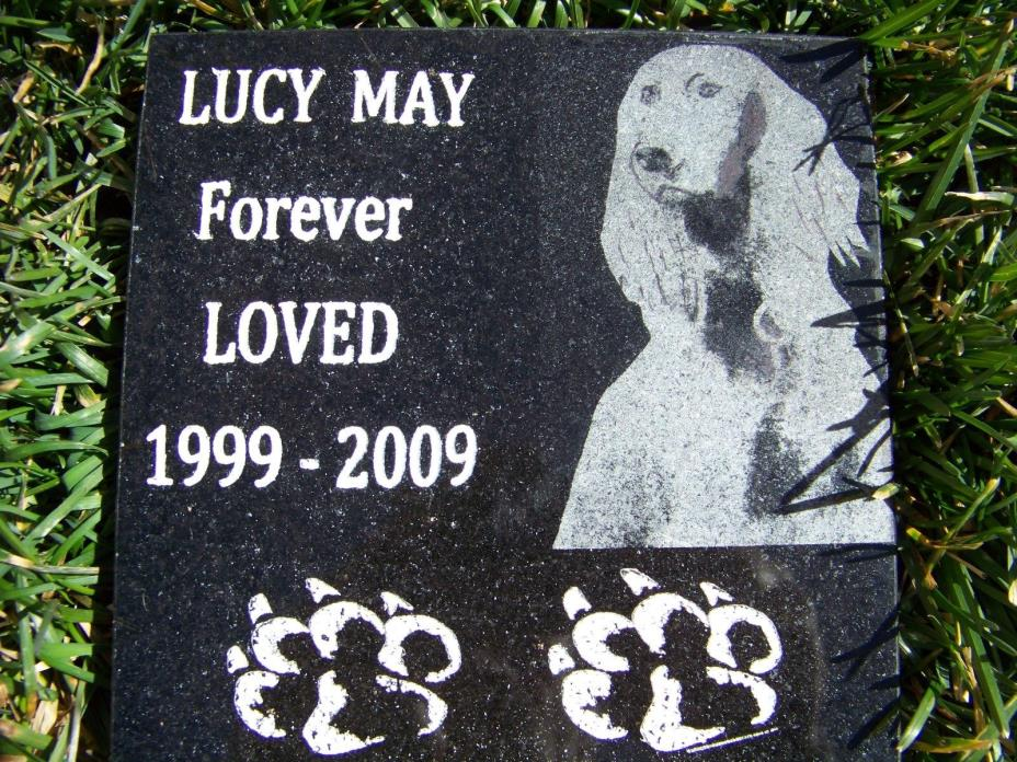 Custom engraved Granite pet marker,remembrance stone for all occasions 12