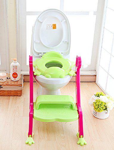 NEW KidsKit 3 in 1 Potty Training Seat Potty Chair | Potty Seat Training Sturdy