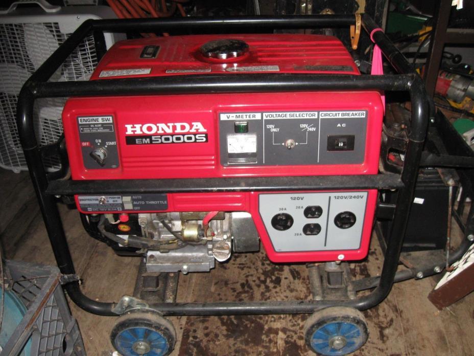 GENERATOR, HONDA EM 5000 S GENERATOR used
