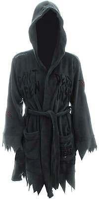 The Walking Dead Dont Open Dead Inside Womens Hooded Fleece Bathrobe