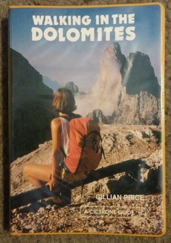 Walking in the Dolomites, Gillian Price, Cicerone Guide