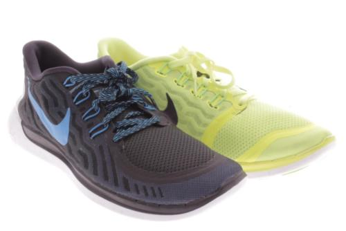 Mens Nike Cross Color Blue Yellow Athletic Shoes 11.5 M