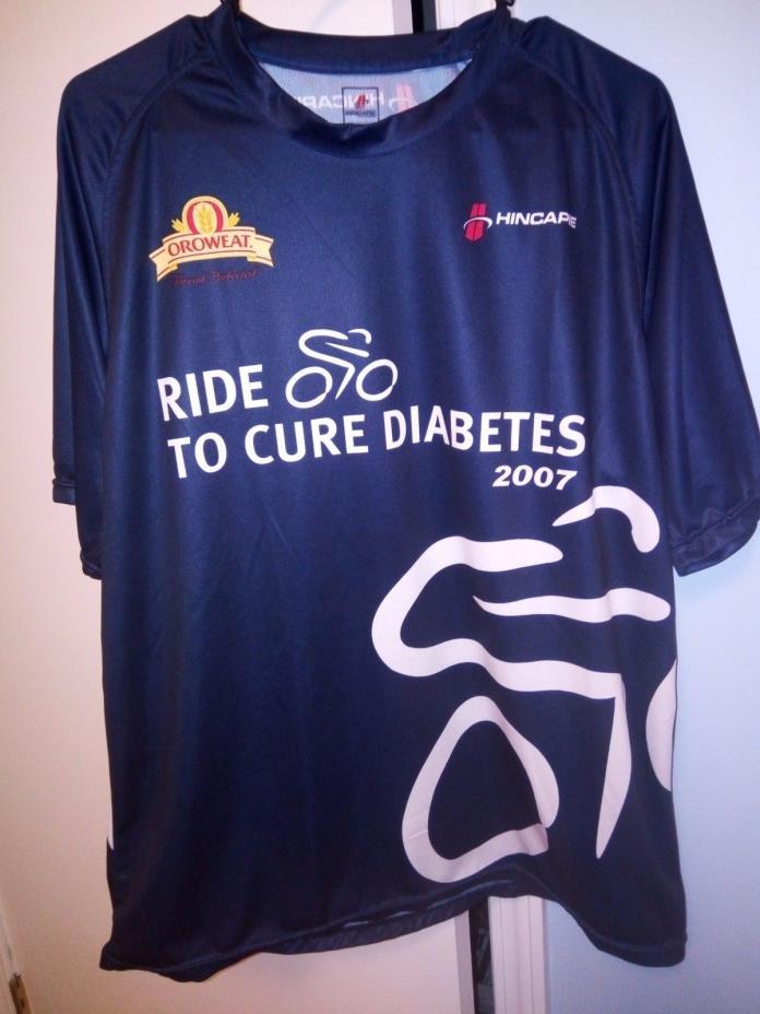 Hincapie Oroweat Cycling Jersey T-Shirt Size XL