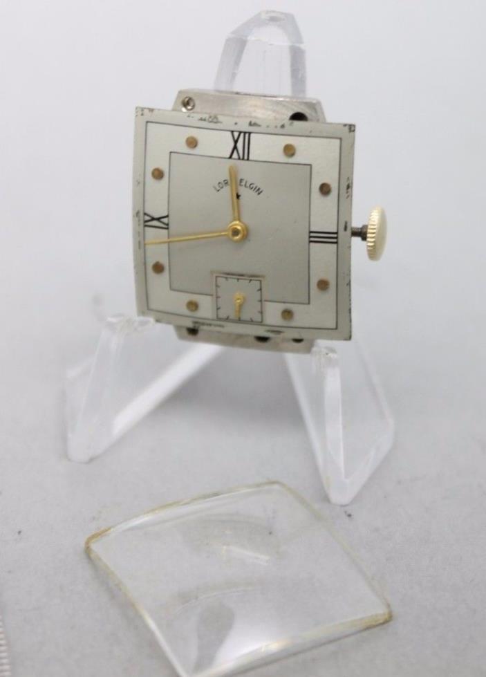 Vintage Elgin 559 21j  T645289 hand Wind Running Wrist Watch Movement