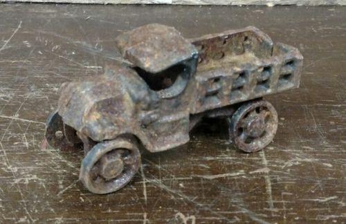 Vintage Cast Iron Truck Reproduction Toy Primitive