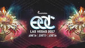 2 EDC Electric Daisy Carnival  Las Vegas Tickets