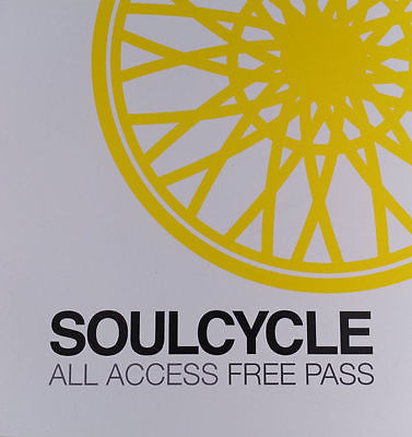 SoulCycle All Access Free Class Pass (1 class)