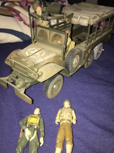 1/18 Ultimate Soldier WWII U.S. Dodge Wc63 Halfton Carrier Truck