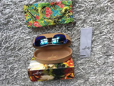Maui Jim Wiki Wiki B246-17 Sunglasses Titainum frame Polarized mirror Lens