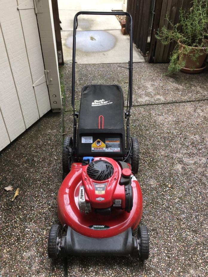 Craftsman lawn mower 5.5 hp