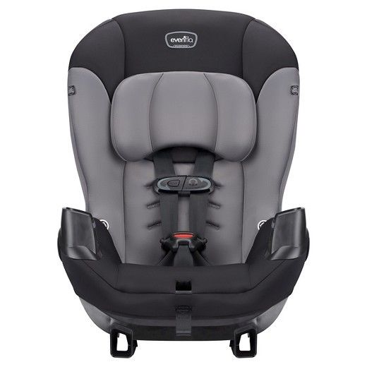 Sonus? Convertible Car Seat Evenflo Infant, Toddler Vehicle Seat Charcoal Sky