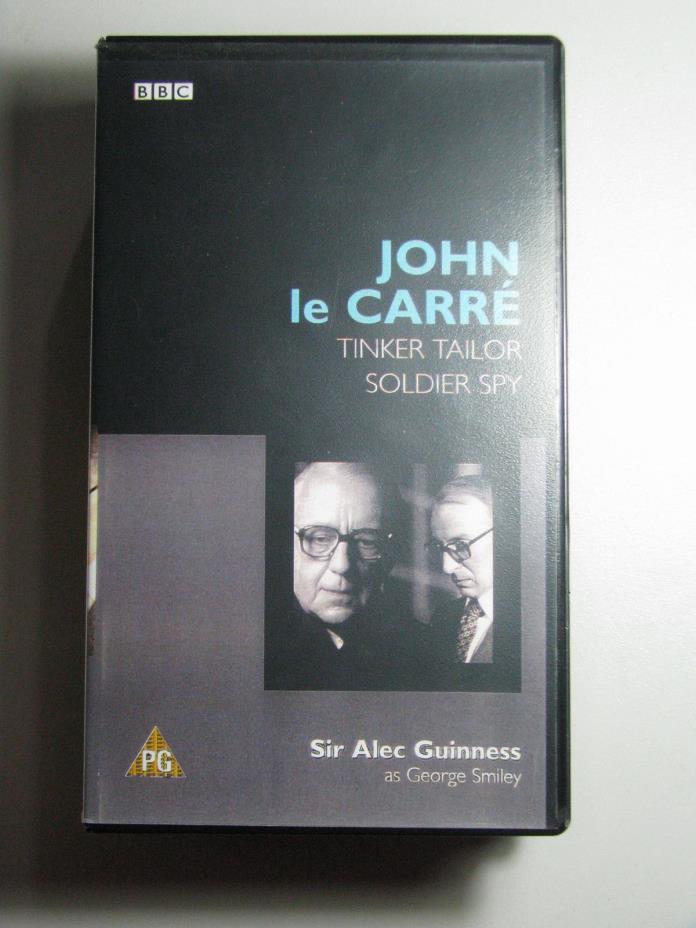 John le CARRE Tinker Tailor Soldier Spy 1999 BBC 2 VHS Alec Guinness Espionage