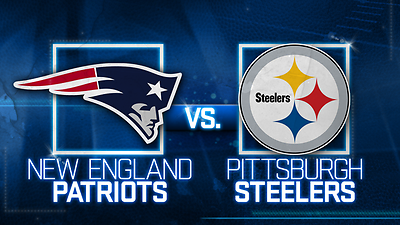 Pittsburgh Steelers vs New England Patriots 12/17/17