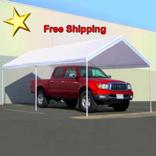 Carport Kits Cover Steel Frame Canopy 10 x 20 Storage Tent Shelter Car Port
