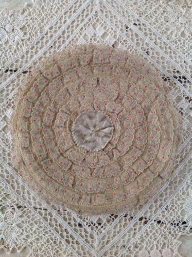 Antique Lace & Flower Pouch