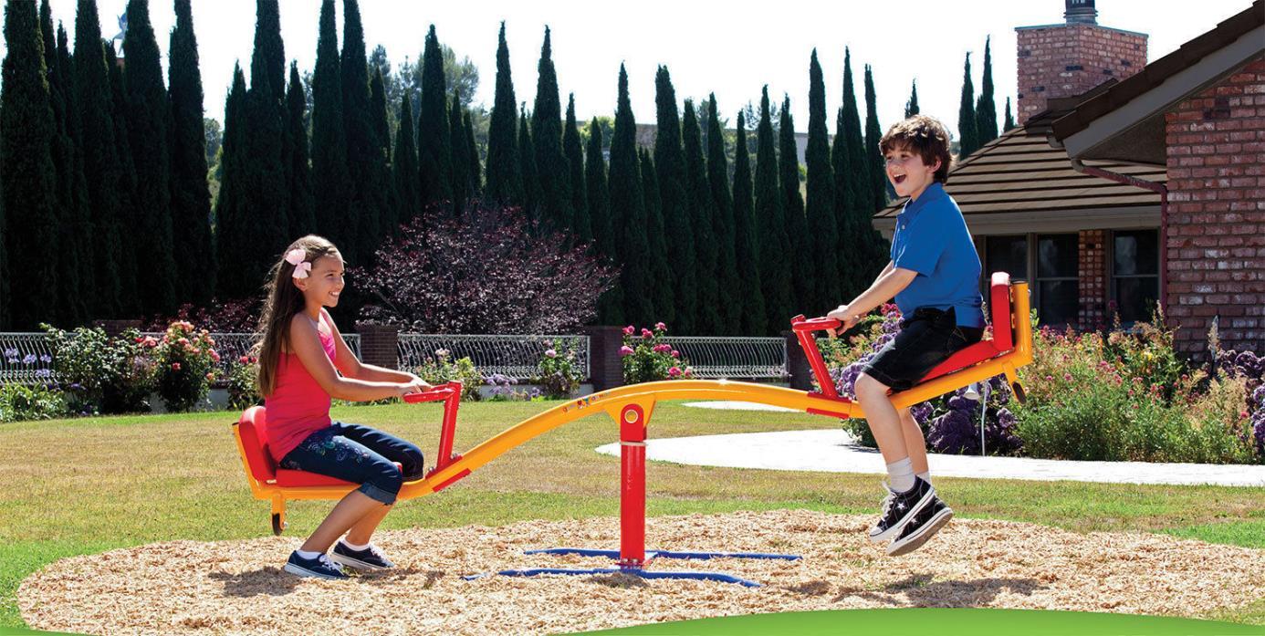 Gym Dandy 360 Degree Spinning Teeter Totter TT-360
