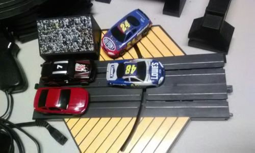 life like slot cars and track