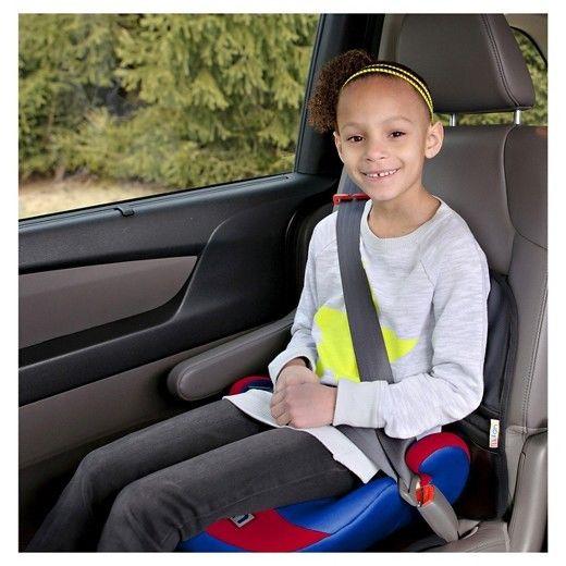 MLB Lil Fan Box Seat Premium Slimline No Back Baby Seat Booster Atlanta Braves