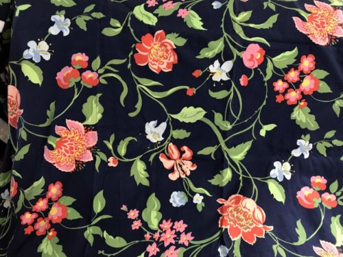 Vintage 1979 Limoges Marguerite de Nice Bassett McNab Upholstery Fabric 5 Yards