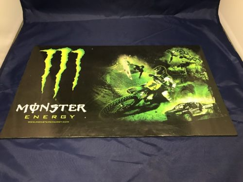 Officially Licensed Monster Energy Hard Vinyl Poster 18