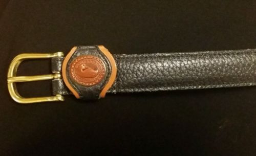 DOONEY & BOURKE navy leather belt