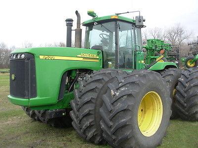 2002 John Deere 9520 4WD Tractors