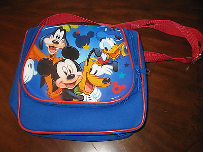 Insulated LUNCH BOX FOOD BAG Mickey Mouse Clubhouse  DISNEY NEW