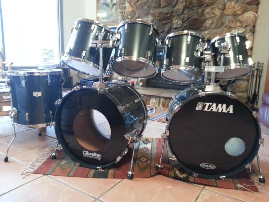 tama rockstar full drum kit for sale classifieds. Black Bedroom Furniture Sets. Home Design Ideas