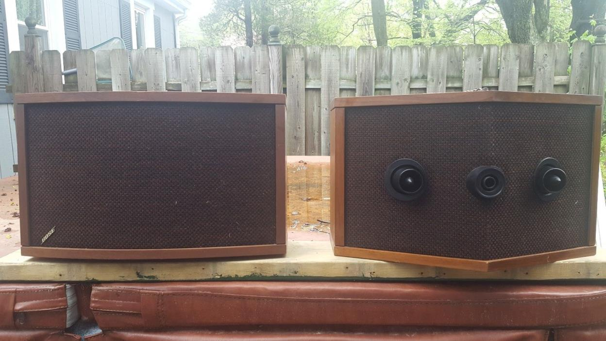 BOSE speakers 901 series IV PARTS 1 and 2  Good Condition