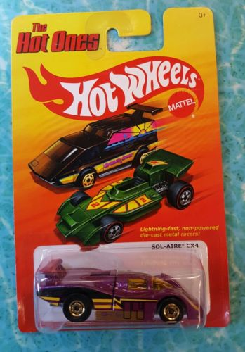 2011  HOT WHEELS THE HOT ONES SOL-AIRE CX4