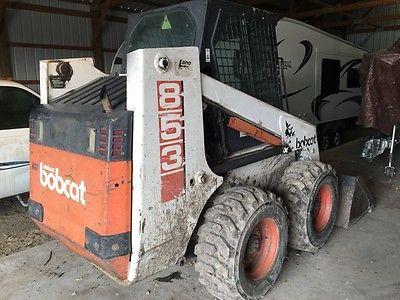 1993 Bobcat 853 Skid Steer Loader