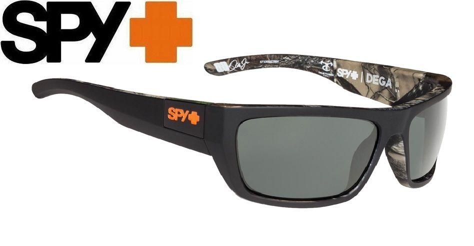 Spy Dega Sunglasses Decoy POLARIZED True Timber/Happy Gray/Green Polar