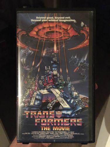 THE TRANSFORMERS: THE MOVIE Original VHS Classic!