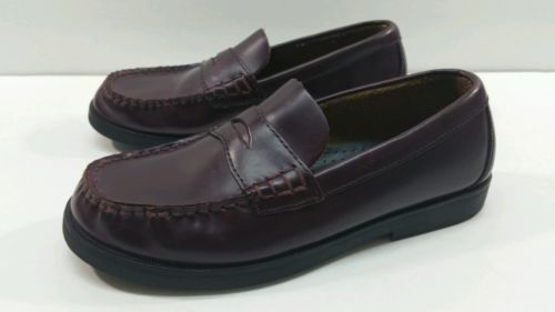 Sperry Colton Boys Full Strap Loafers - Size 4M