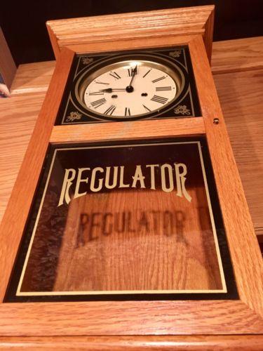 pendulum wall clock vintage