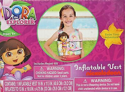 Dora the Explorer Inflatable Vest - Includes Repair Kit