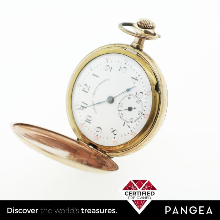 Corona Chronometer Swiss Vigilant Pocket Watch
