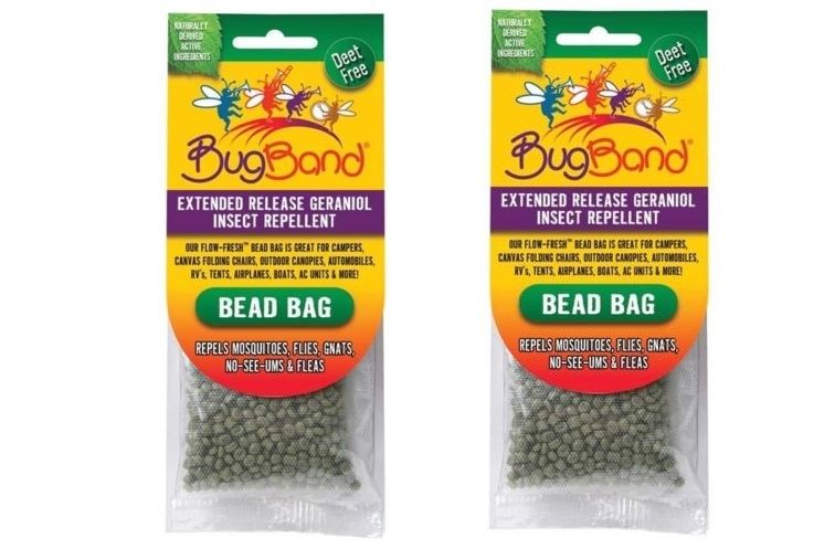 (2) Hanging Bug Repellant ~ Tent ~ Camping ~ Free Shipping