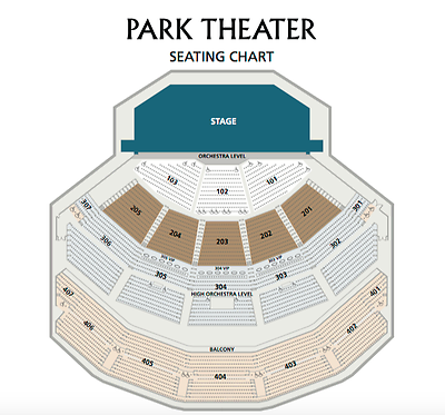 Cher 2 Tickets Saturday May 6 Park Theatre Monte Carlo Las Vegas Section 303