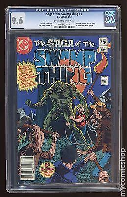Swamp Thing (1982 2nd Series) #1 CGC 9.6 0958453014