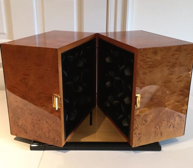 $28,000 Burl Wood Scatola del Tempo Watch Winder - 18RT RA.