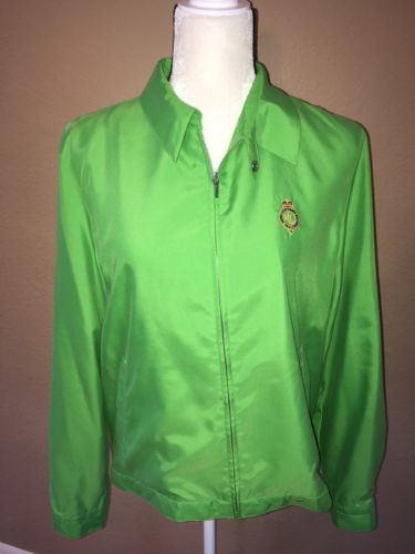 Women's Ralph Lauren Active Windbreaker Green LARGE