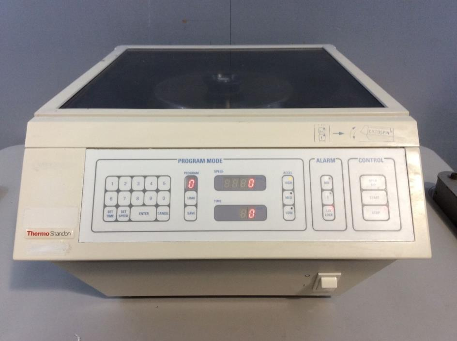 Thermo Shandon Cytospin 3 Centrifuge, Medical, Healthcare, Laboratory Equipment