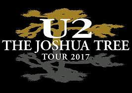 2 Tickets U2 with The Lumineers 6/28/17 MetLife Stadium (Credit Card Entry Only)