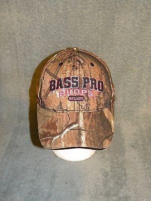 BASS PRO SHOPS   Pink Camo   baseball style   LOGO  Hat