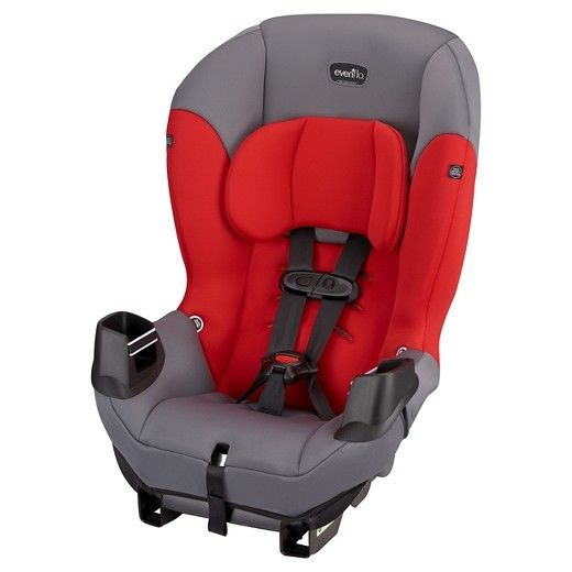 Sonus? Convertible Car Seat Evenflo Infant, Toddler Vehicle Seat Lava Red