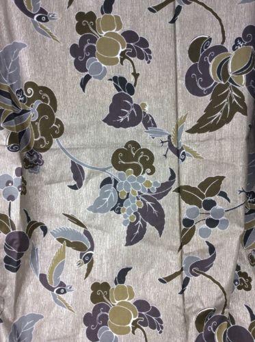 Estate Fabric Vintage Vlisco Dutch Wax Block Holland Java Floral Birds 120 X 46