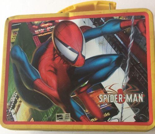 Spiderman Lunch Box 2004 Marvel