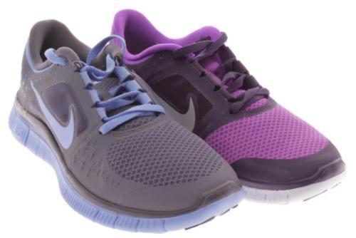Mens Nike Cross Color Purple Blue Athletic Shoes 7.5 M