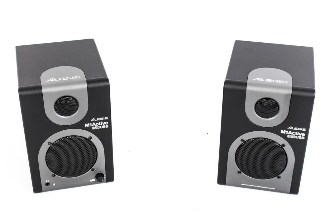 Alesis M1 Active 320 USB Powered Monitor Pair